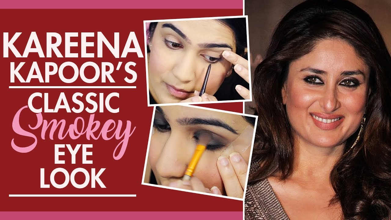 Kareena Kapoor's Classic Smokey Eye Tutorial | Pinkvilla | Fashion | Bollywood