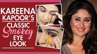 Kareena Kapoor's Classic Smokey Eye Tutorial | Pinkvilla | Fashion | Bollywood thumbnail