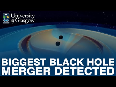 Most Massive Gravitational Wave Signal Yet Poses New Mysteries