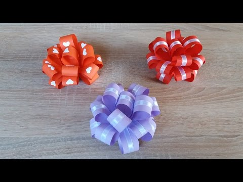 How to Make Easy Paper Bow