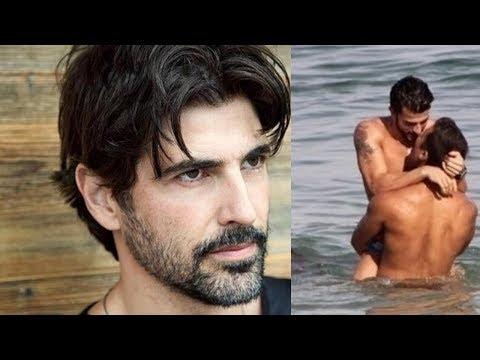 Reynaldo Gianecchini SAIU DO ARM�RIO! Vaza fotos do ator dando BEIJO GAY em namorado na PRAIA