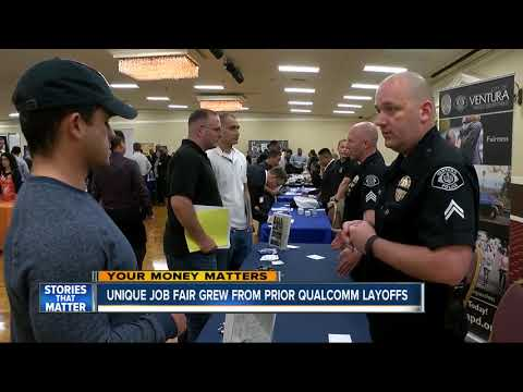 Qualcomm's possible acquisition by Broadcom leads to job fair