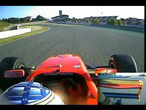 Mirko Bortolotti onboard lap - Barcelona - FIA Formula Two