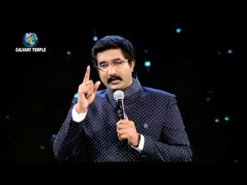 Daily Promise and Prayer by Bro. P. Satish Kumar from Calvary Temple – 16-05-2018