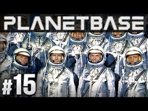 Planetbase Gameplay - Ep. 15 - HUGE COLONY! (Let's Play Planetbase)