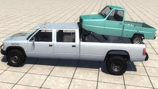 BeamNG.drive - HCube & Pigeon in Truck Beds