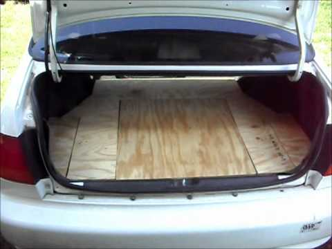 How To Make A Custom 98 Civic Trunk Mat Pt 2 Youtube