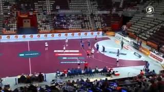 Гандбол Россия - Германия ( 1 часть ) ( Чемпионат Мира 2015 Катар )