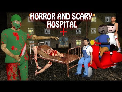 Horror Hospital - Doctor VS Patient (ANIMATED IN HINDI) Make Joke Horror
