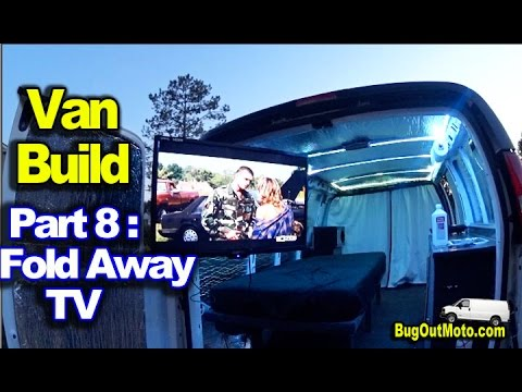 "van-build-part-8---32""-foldaway-tv---hd-antenna-and-alarm-|-bug-out-van-build-series"