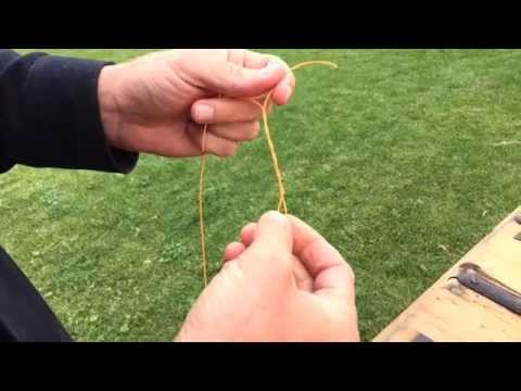 How To Tie The Improved Clinch Knot (Fly To Leader)