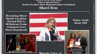Women On the Wall Radio with South Carolina Superintendent of Education Candidate Sheri Few
