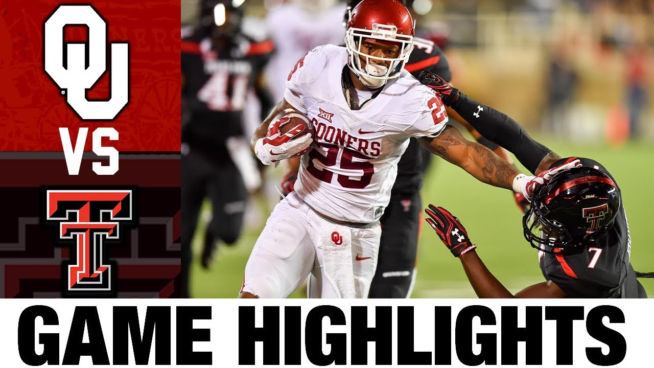 #16 Oklahoma vs Texas Tech | 2016 Game Highlights | 2010's Games of the Decade