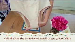 39a4677d2 Calcinha Plus Size Em Satinete 50650 Delrio - Le Lingerie ...