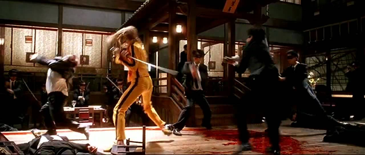 Kill Bill Vol 1 Scene