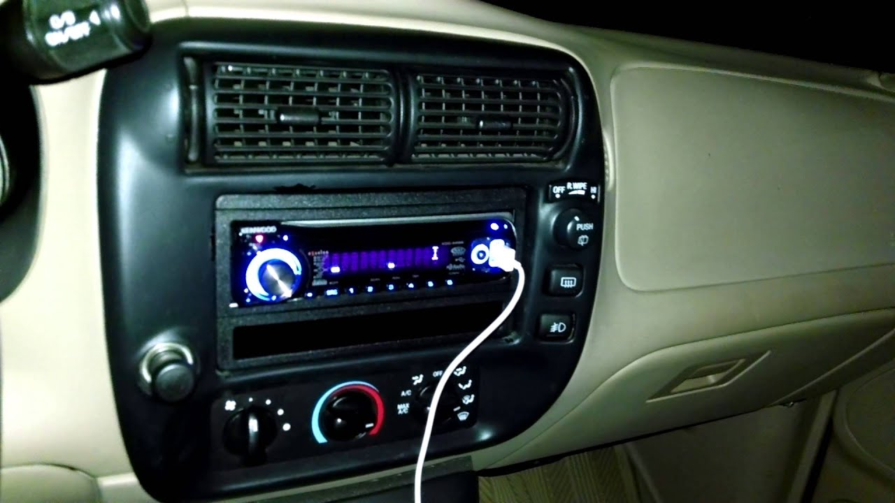 New stereo 2001 ford explorer