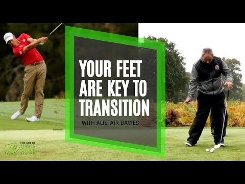 Golf Swing Transition With The Feel To Swing Like The Pro