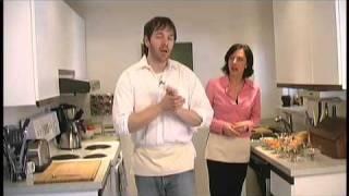 Two Minute Snacks - No Bake Fruitcake