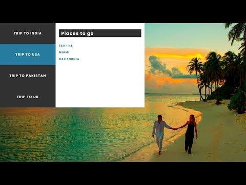 Vertical Drop-Down Navigation using HTML & CSS | Pure CSS Vertical Menu