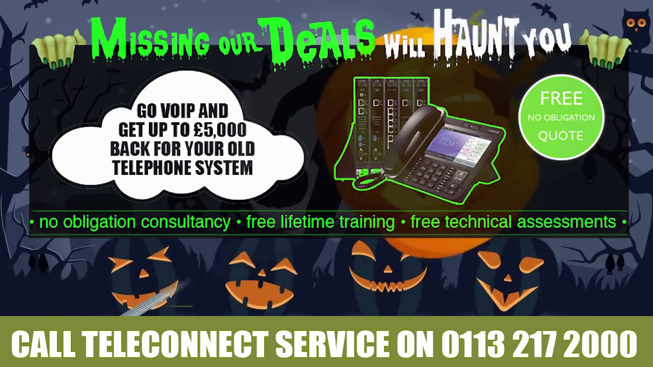 HALLOWEEN IDEAS FOR YOUR BUSINESS - Teleconnect Service