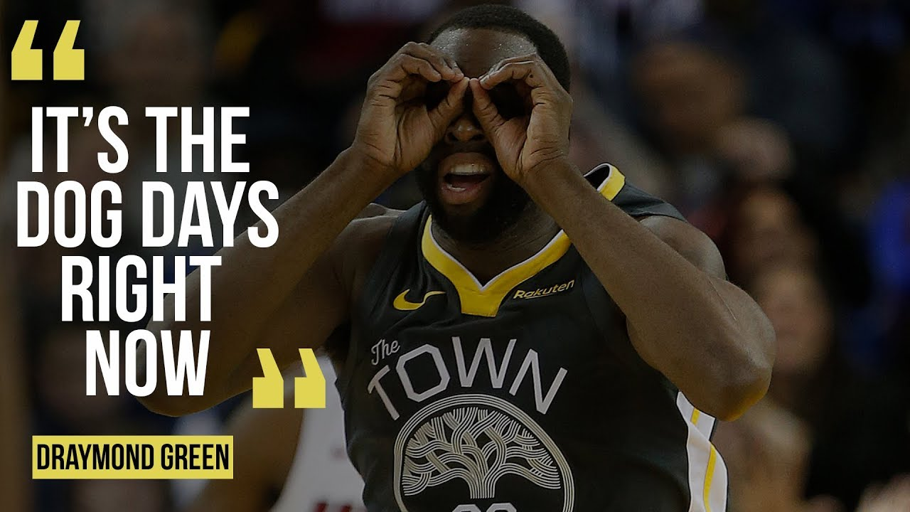 "Draymond Green says Warriors in ""dog days"" after Miami Heat win"