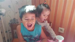 EPIC FUNNY VIDEO!!!FAMILY HAS FUN at home,kids doing sports // Anna from Cambodia