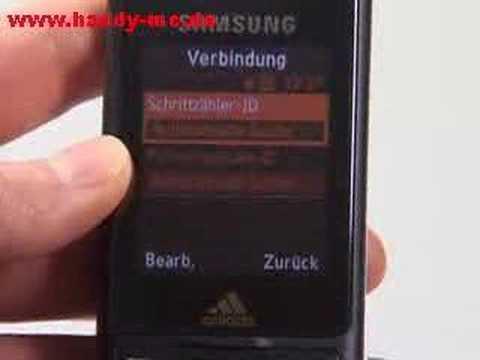Samsung SGH F110 miCoach Sport