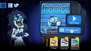 Trollface Quest: Horror // Walkthrough (1-17 levels) w/ hints