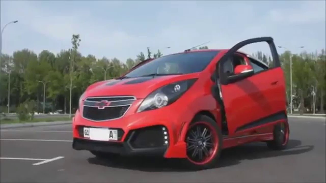 chevrolet spark тюнинг фото