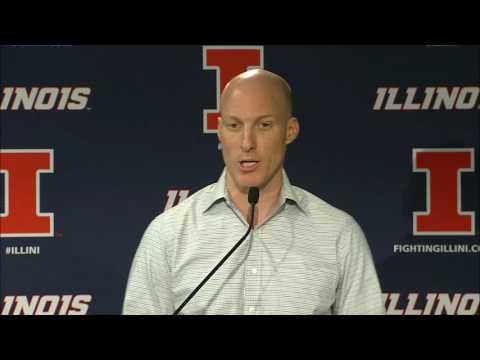 John Groce Addresses the Media