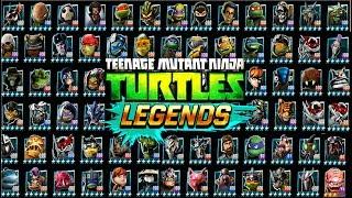 ВСЕ ГЕРОИ игры Черепашки ниндзя Легенды #302  бой всех героев на турнире TMNT Legends