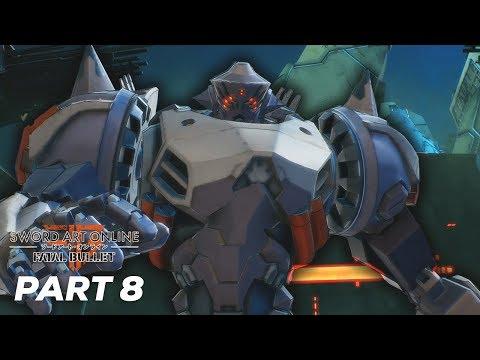 Sword Art Online: Fatal Bullet Ep 8 | SBC FLUGEL GATEKEEPER
