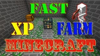 Minecraft Tutorial Of Fast XP Farm