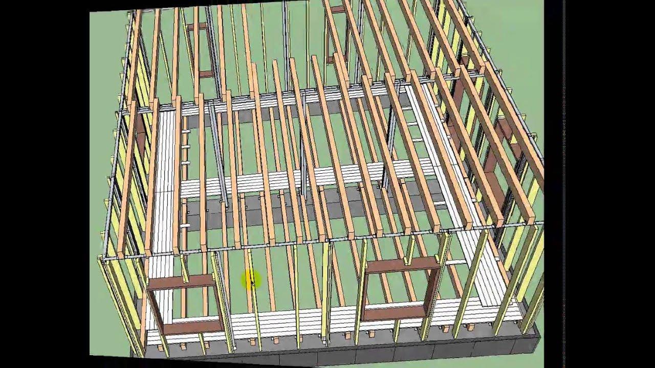 Как построить дом своими руками.Готовые проекты 3D недорого.How to build a house