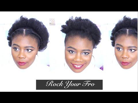 5 Natural Hairstyles For Black Women Natural 4c Hair Natural