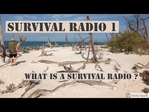 What is a Survival Radio ?  Survival Radio 1