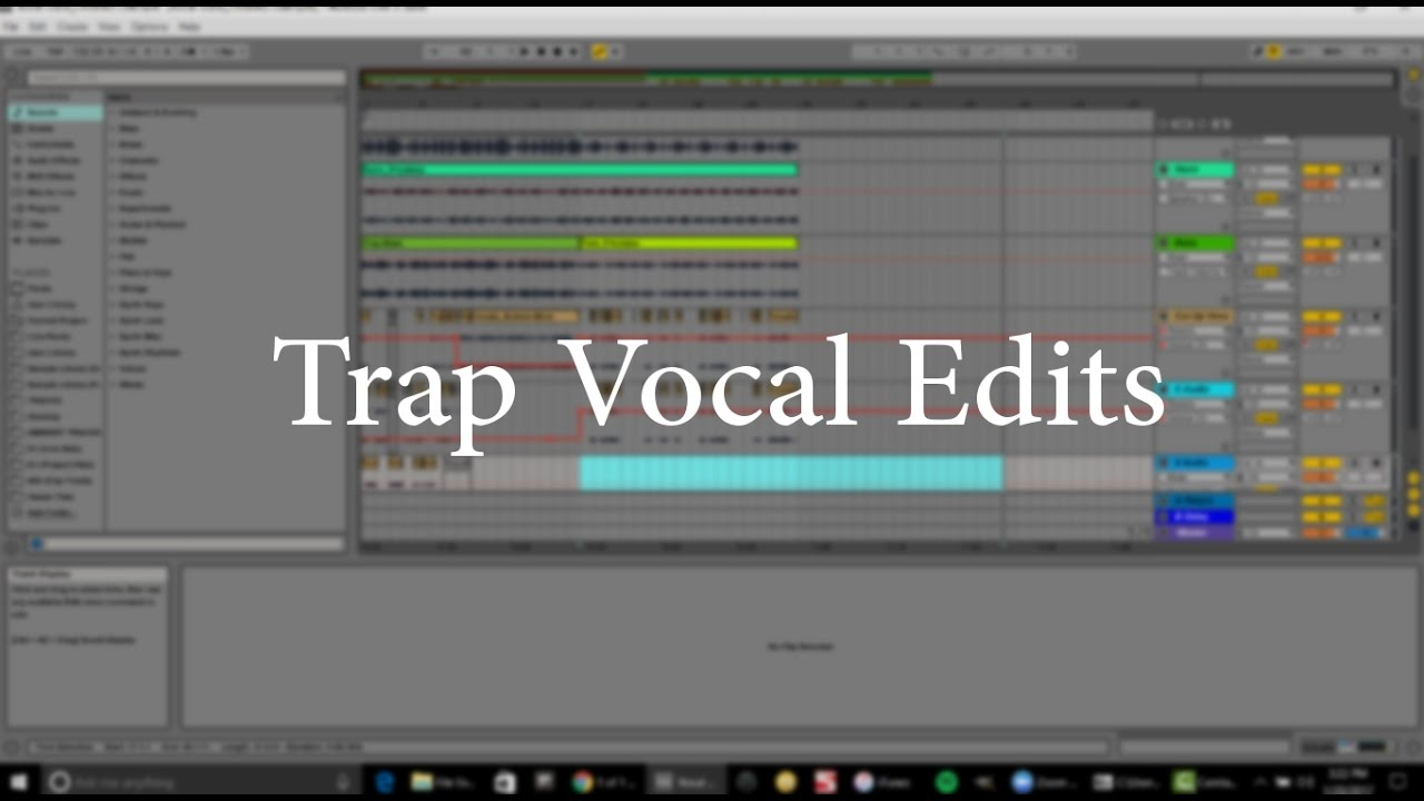 Trap Vocal Edits with Ableton Live