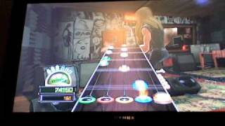 Jordan on Guitar Hero World Tour GHTunes