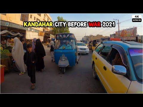 Kandahar Before WAR | 2021 | 4K