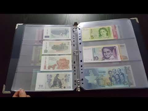 Banknotes collection 2017