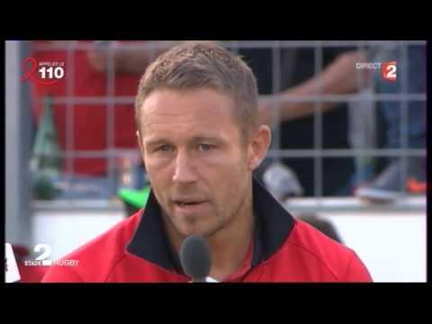HCUP Quart Finale 2013 2014 Toulon vs Leinster Itw Jonny Wilkinson