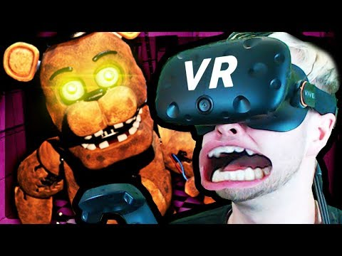 Five Nights at Freddy's in Virtual Reality! (FNAF VR)