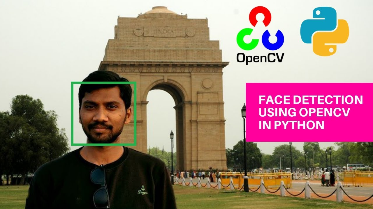 OpenCV Face Detection with Python for Image and Webcam
