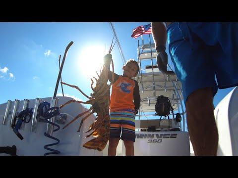 Florida Mini Season | We Caught A Giant Lobster!!