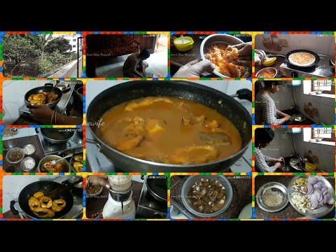 మా-ఇంట్లో-మేము-చేసుకున్న-వెరైటీ-దోశ-&-కమ్మని-చేపల-పులుసు|-morning-routine|-lunch-routine-in-telugu