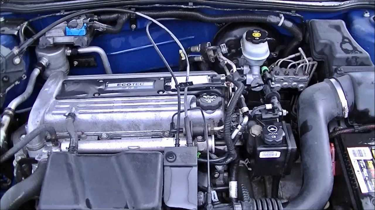 2003 chevy cavalier water pump pt1 youtube rh youtube com 2006 chevy cobalt engine wiring diagram 2005 Chevy Cavalier Engine Diagram