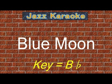 """JazzKara  """"Blue Moon"""" (Key=Bb)"""