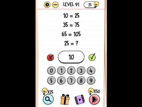 Brain Test 91 92 93 94 95 Kunci Jawaban Brain Test Level 91 95