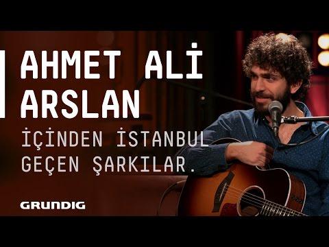 Ahmet Ali Arslan @Akustikhane - İçinden İstanbul Geçen Şarkılar #Akustikhane #sesiniaç