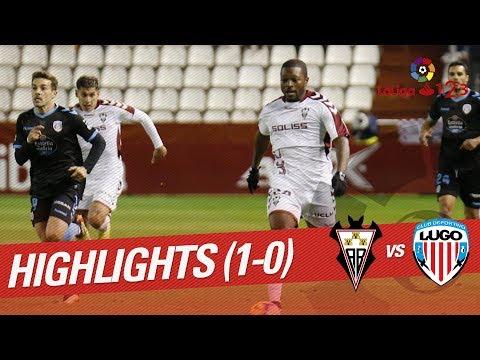 Highlights Albacete BP vs CD Lugo (1-0)